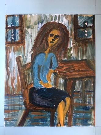 Cafe Girl #2