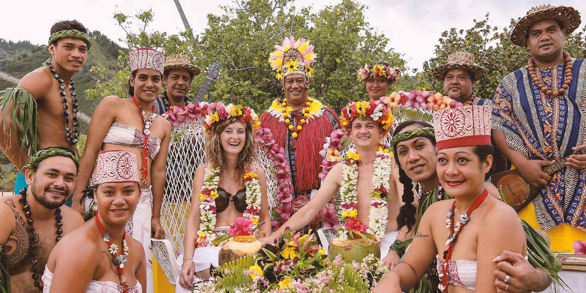 Svadba Tahiti