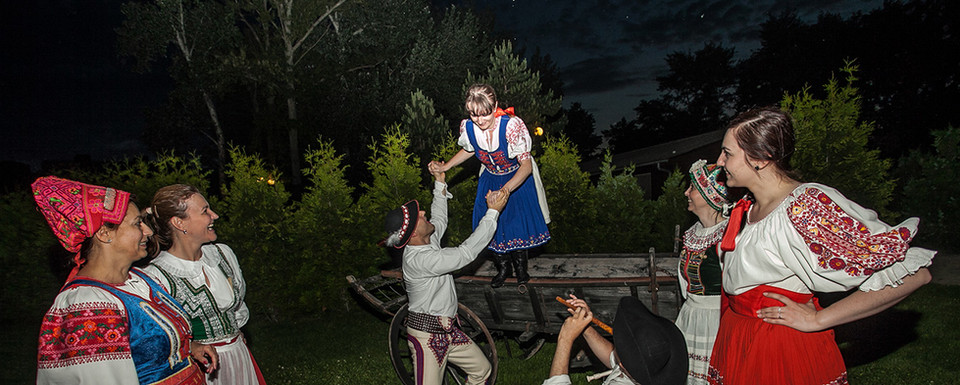 Slovenske dievčatá, Folk