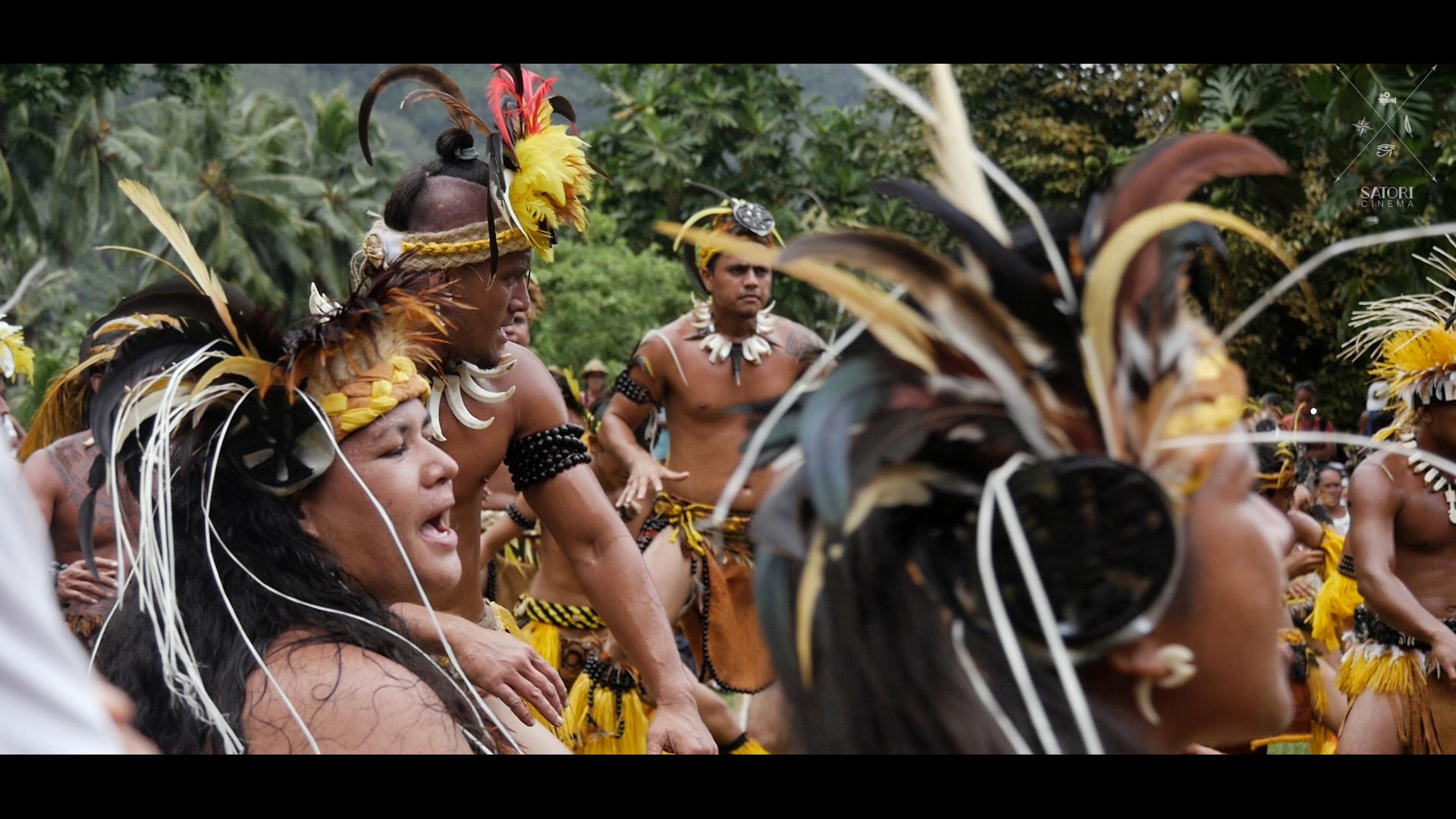 Dancers in Nuku Hiva