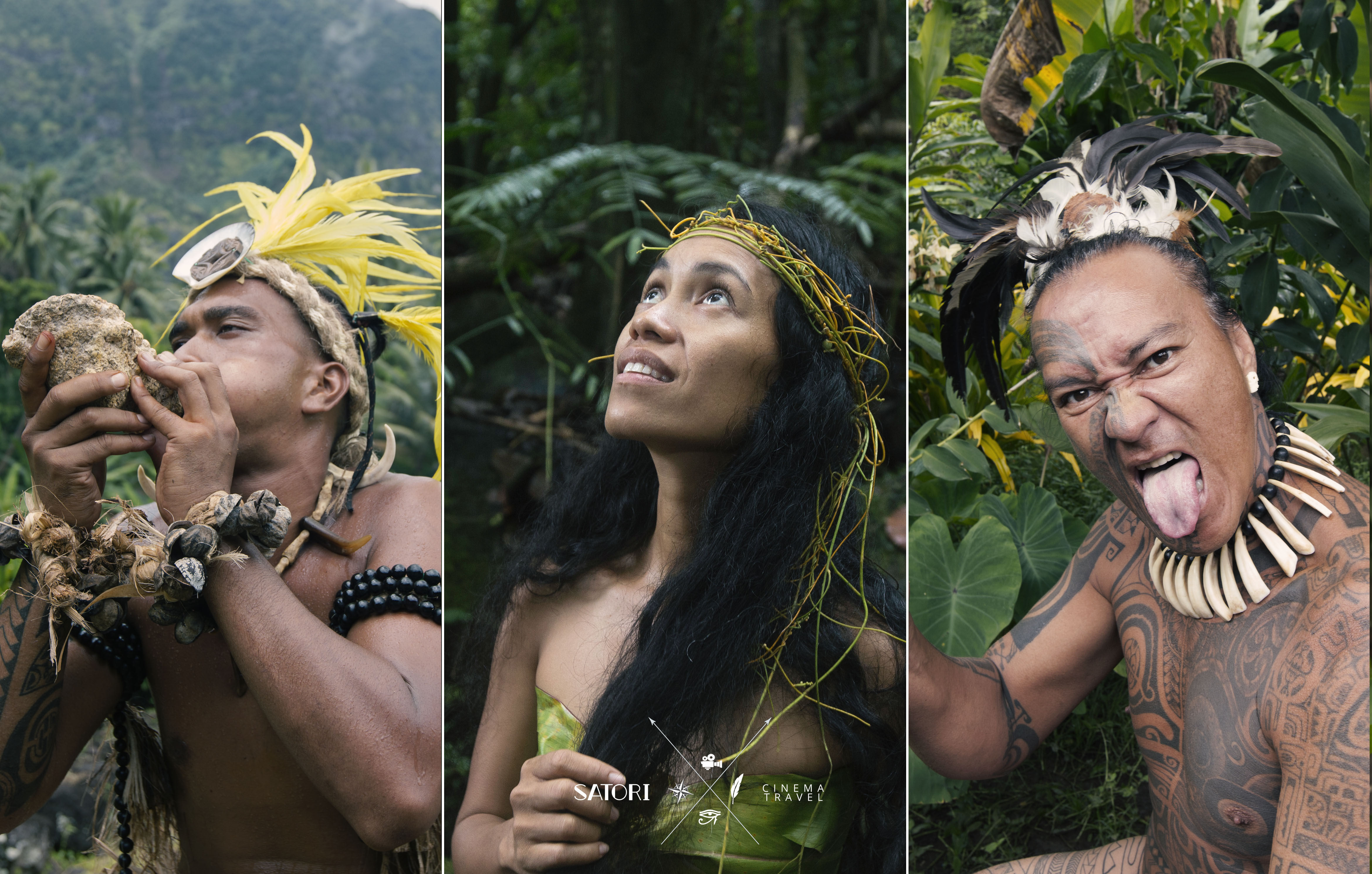 Marquesas People photography