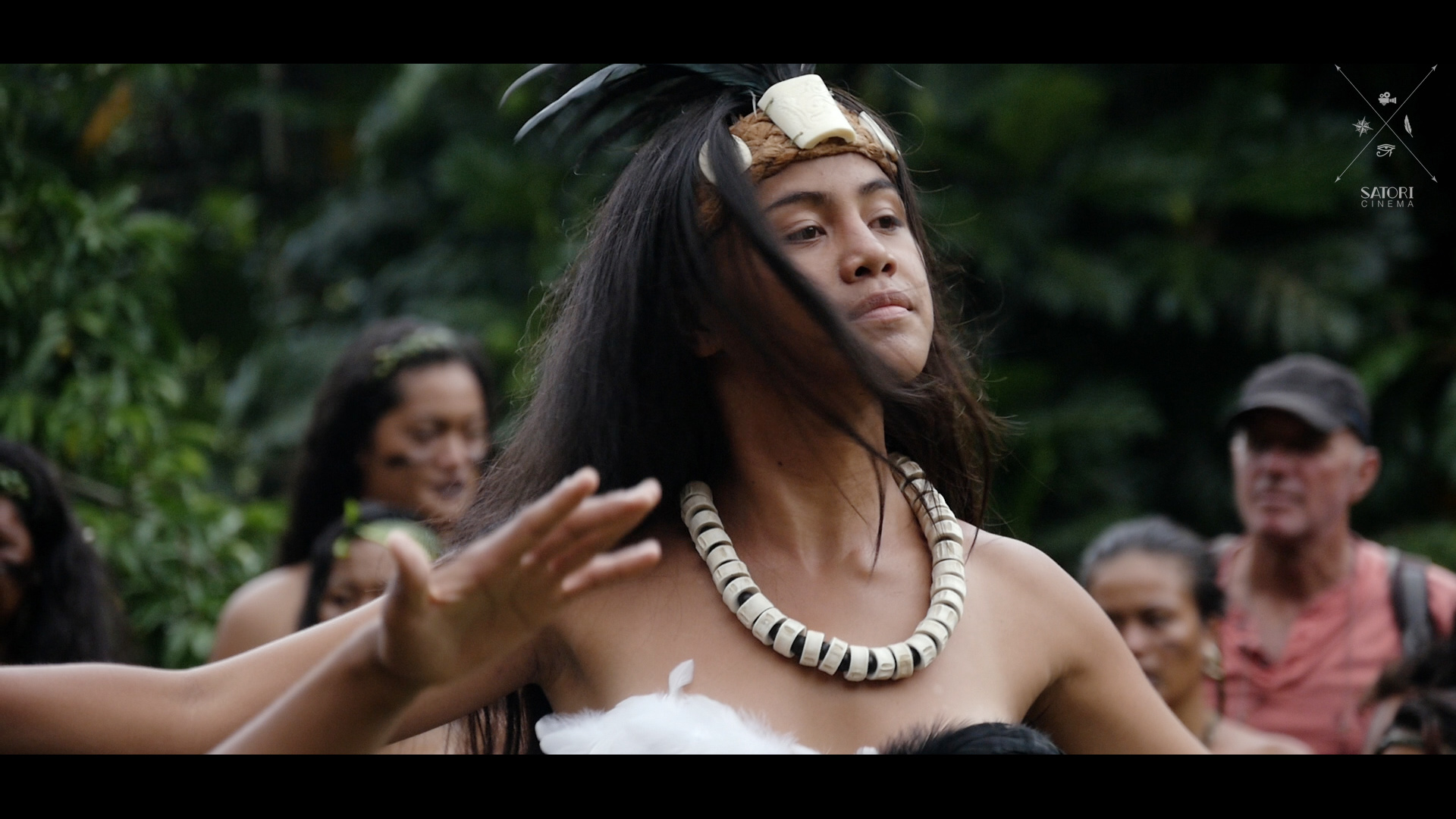 Woman Dancing  from Marquesas