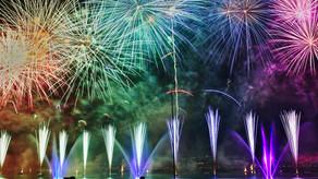 Fireworks on my iPad