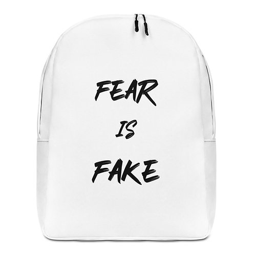 """""""Fear is Fake"""" Backpack"""