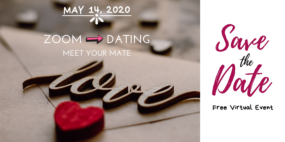 Zoom Dating - a Virtual Speed-Dating Free Event