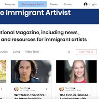 Arts for Immigrants Blog
