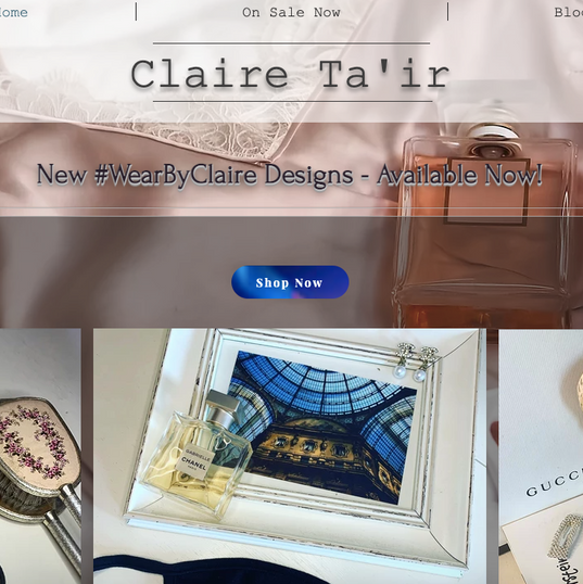 Claire Tair Homepage