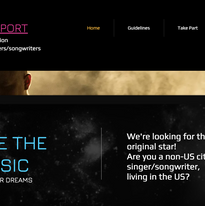 Musical Competition Website