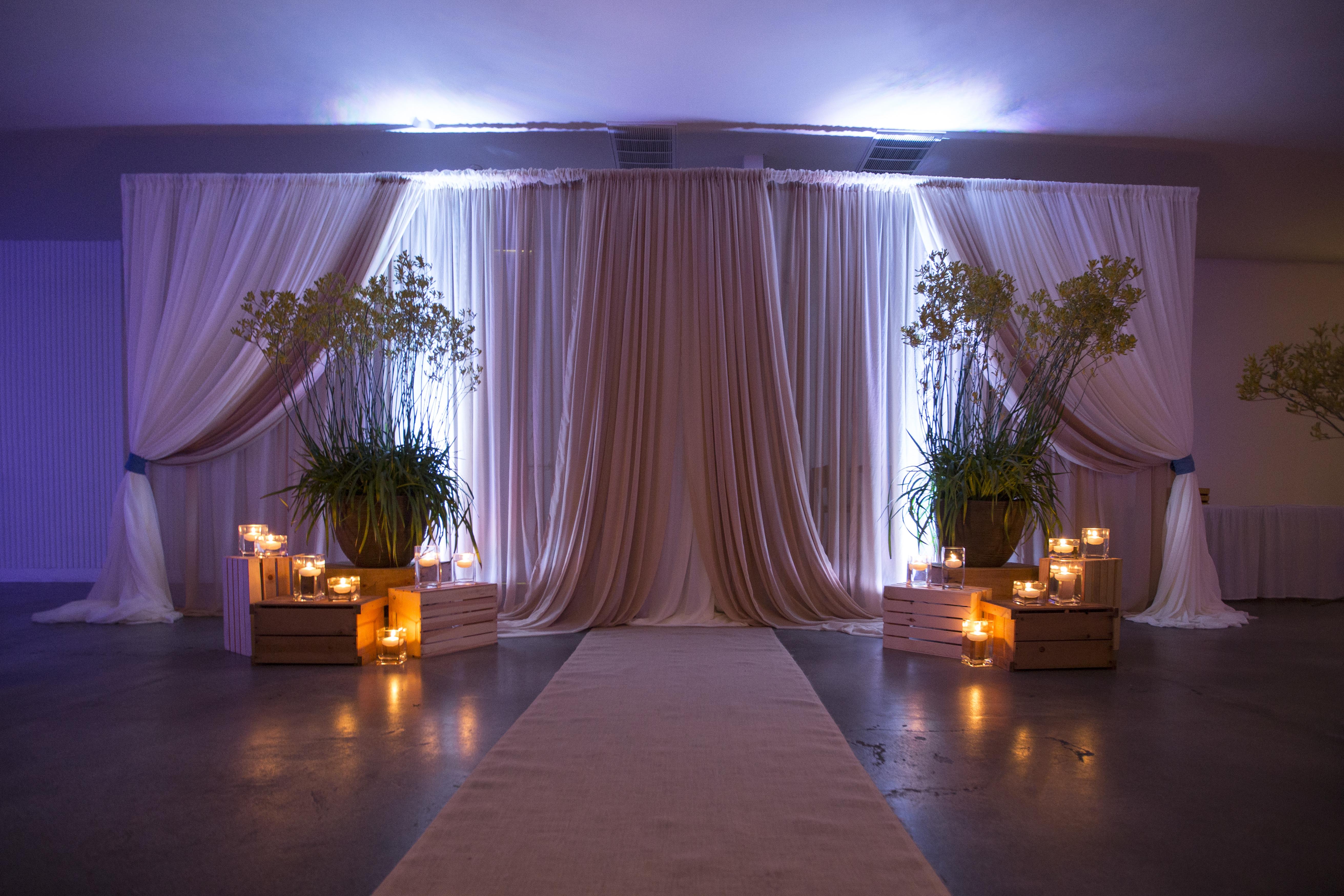 Rustic Wedding Backdrop