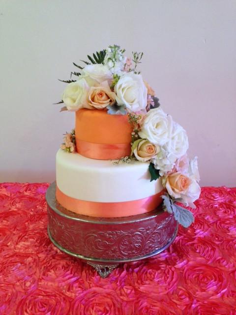 Bridal Shower Fondant Cake
