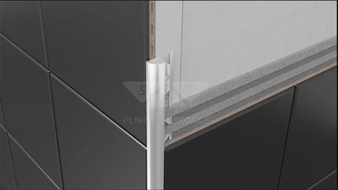 Profiles for Ceramic tile flooring