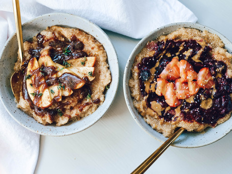 Amaranth Breakfast Bowls 2 Ways