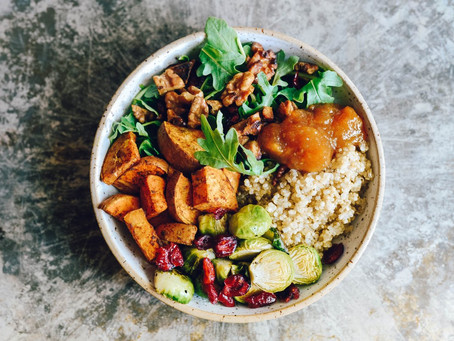 Autumn Organic Grain Bowl