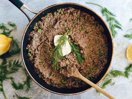 Buckwheat & Pea Risotto