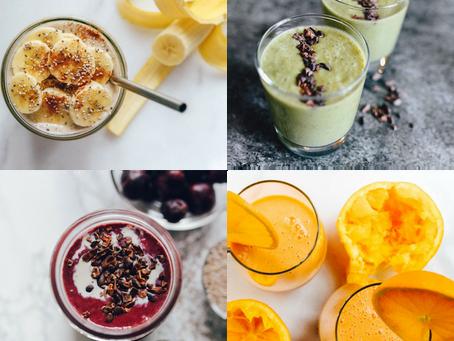4 Energizing Smoothie Recipes