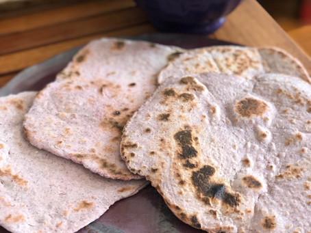 Guest Recipe: Purple Corn Tortillas with Chef June Pagan of Purple Earth Cuisine