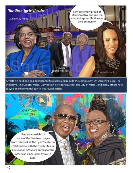 Page 141_ Betty Wright, Dr. Dorothy Fields, Enid & Frank Pinkney, Connie Kinnard