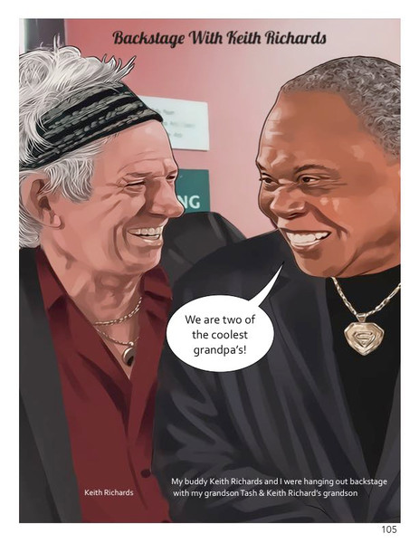 Page 105_Keith Richards & Sam