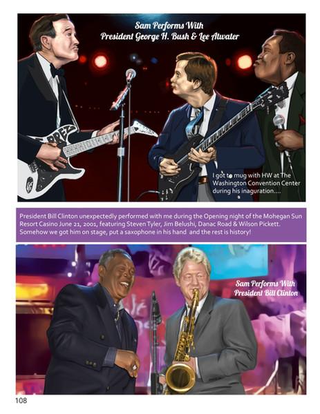 Page 108_George Bush & Bill Clinton