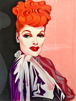 Sid Daniels_Lucille Ball In Color