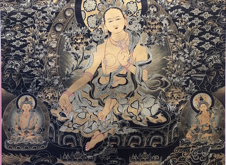 Peace, Power & Joy---Cindy's Thangka Special Collection