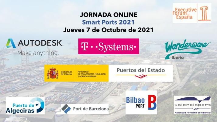 Los puertos digitales se abren paso en Smart Ports 2021