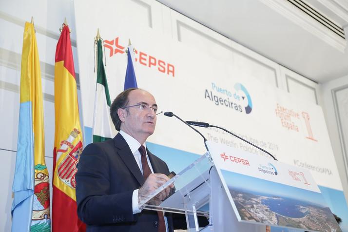 El presidente de la Autoridad Portuaria de Algeciras señala la intermodalidad, la competitividad, la