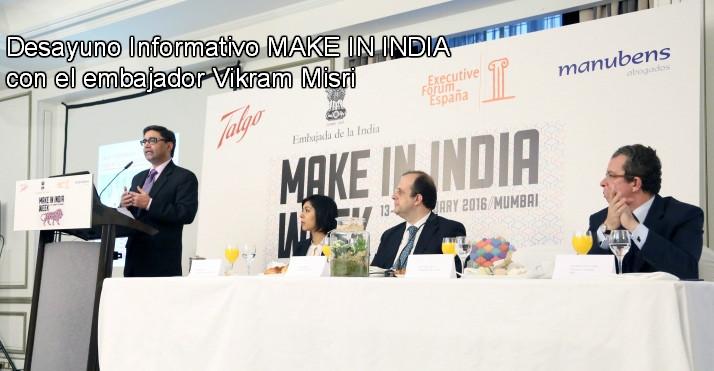 Nunca ha habido un momento mejor para 'Make in India'
