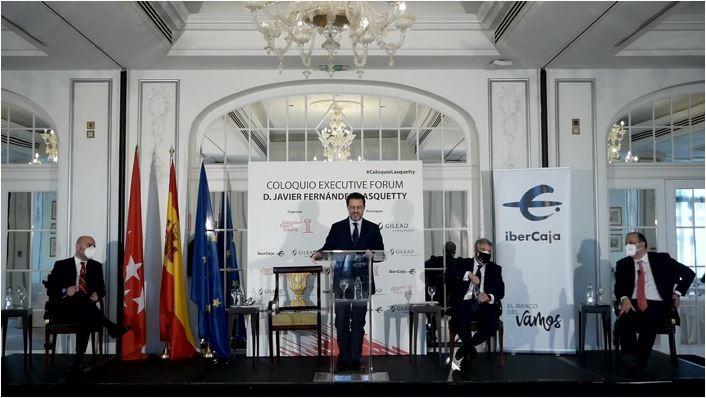 """Fernández-Lasquetty confía en que Madrid sea """"un vector de salida de la crisis"""" para España"""