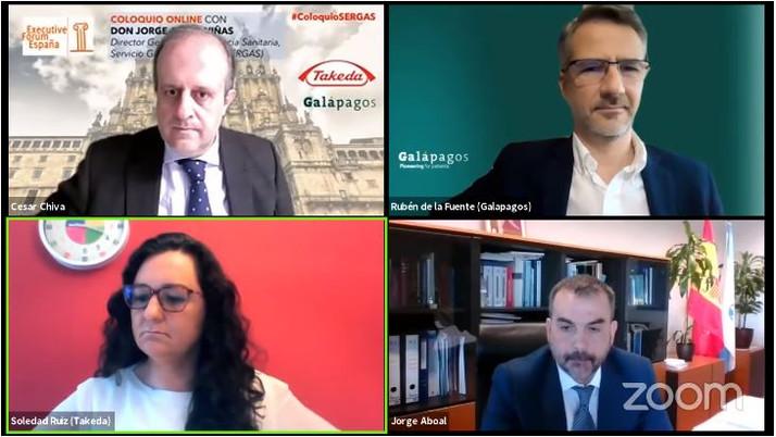 El SERGAS destaca la anticipación como factor diferencial en la gestión de la pandemia en Galicia