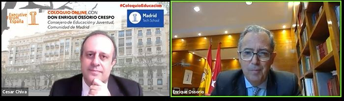 El consejero de Educación de Madrid advierte que la educación pública será la más perjudicada