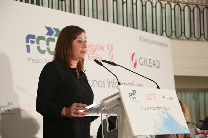 Francina Armengol reclama la reforma del sistema de financiación autonómico y una mayor autonomía fi