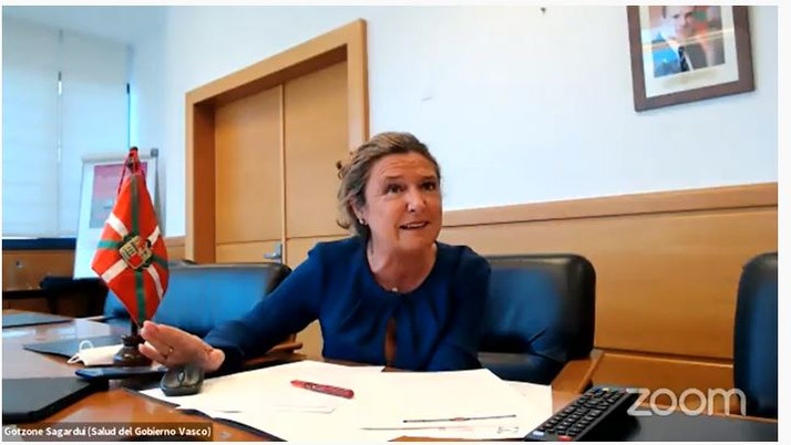 El Gobierno Vasco mantiene que las personas más vulnerables sean las primeras en recibir la vacuna