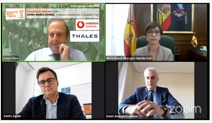 Gámez sostiene que España debe ser líder contra el crimen organizado y el terrorismo internacionales
