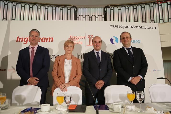 "Arantxa Tapia: ""queremos evitar que el tejido empresarial vasco avance a dos velocidades"""
