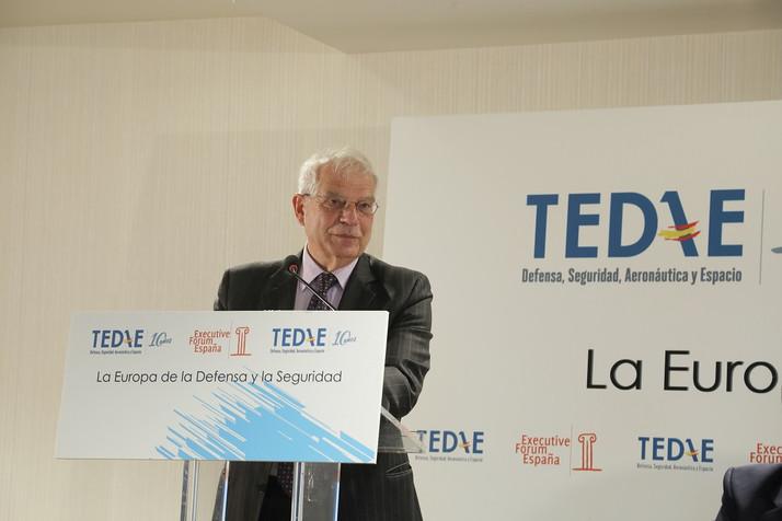 """Josep Borrell sobre la política común de seguridad y defensa de la UE: """"si Europa quiere existir en"""