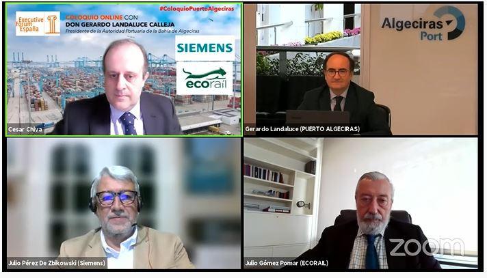 """El presidente del Puerto de Algeciras advierte de que """"la competencia internacional no da tregua"""""""