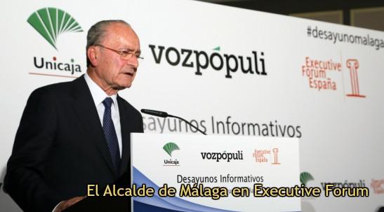 El alcalde de Málaga destaca la transparencia, la honestidad y la descentralización como factores cl
