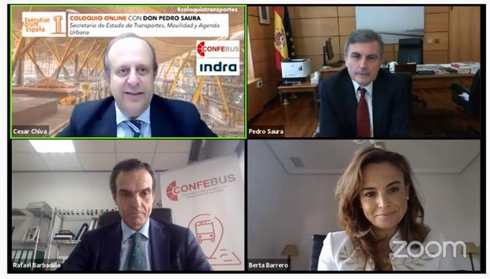 """Pedro Saura señala la Agenda Urbana y la Estrategia de Movilidad sostenible como los """"dos instrument"""