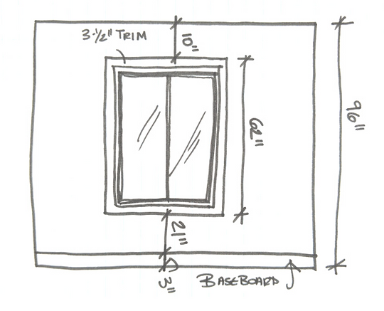 How To Measure A Room- second example.pn