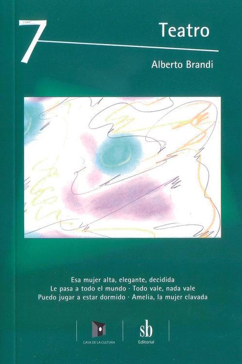 Teatro 7. Obras y pinturas de Alberto Brandi