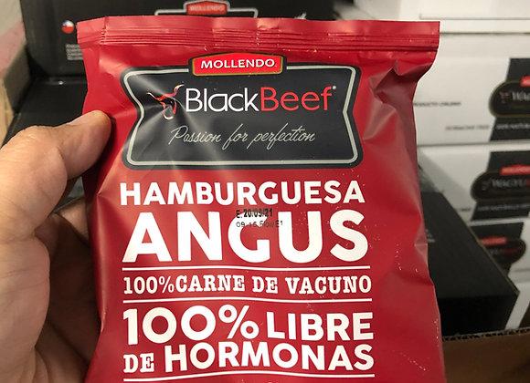 Hamburguesa Angus Black Beef. Precio X Caja