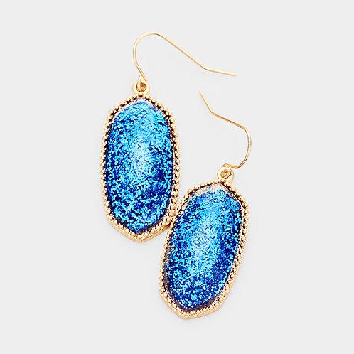 Glitter Dangle - Blue