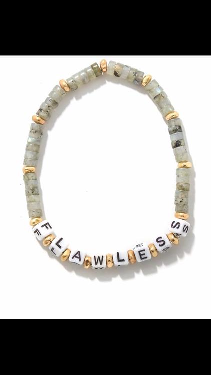 """Flawless"" Beaded Bracelet"