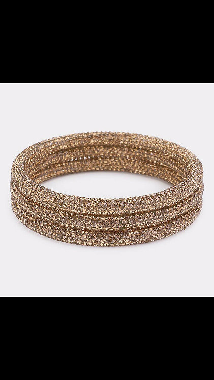 Bling Bangle Set - Topaz
