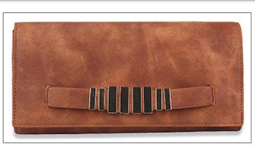 Convertible Clutch / Bag - Brown