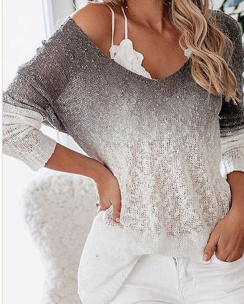 Ombré Summer Sweater