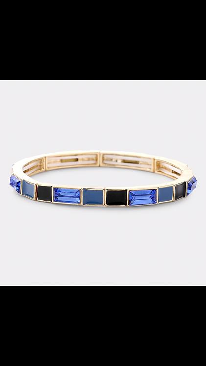Lego Bracelet - Blue