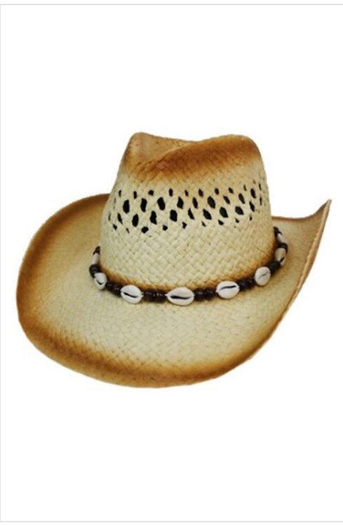 Puka Shell Cowboy Hat
