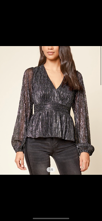 Metallic Sparkle Blouse